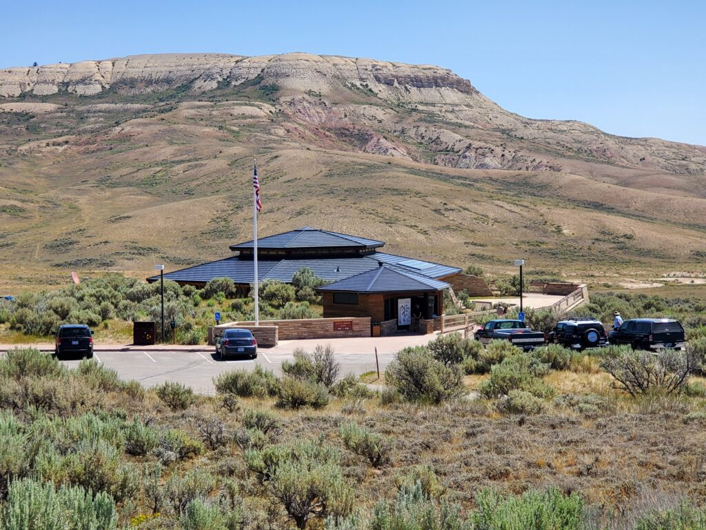 Fossil Butte National Monument Visitor Center